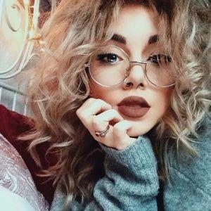 On Trend Round Gold Hippie Eyeglasses